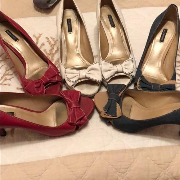 9742d572321 Sale! Alex Marie heels from Dillard's size 8.